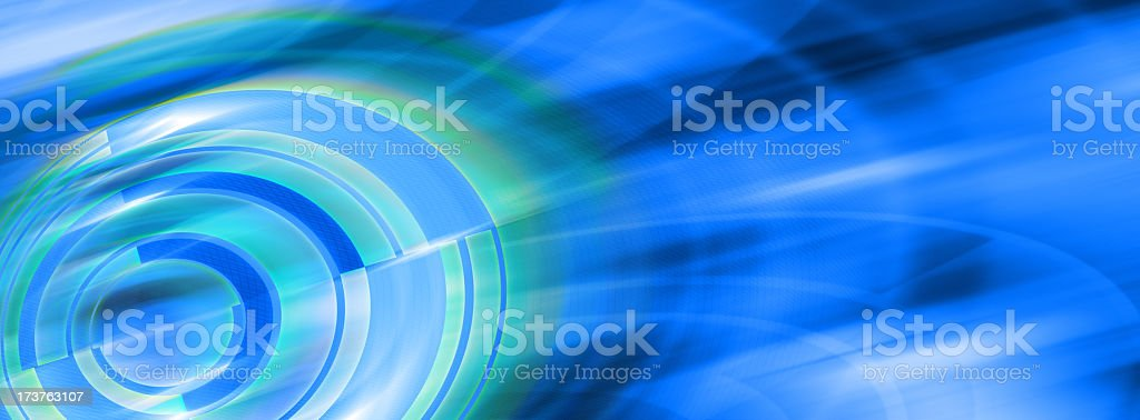 Abstract Background with Circles and Curves 12 stock photo