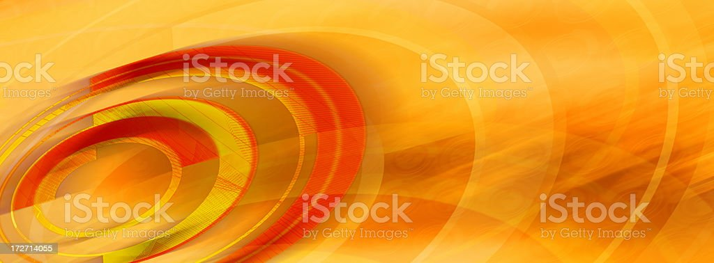 Abstract Background with Circles and Curves 3 royalty-free stock photo