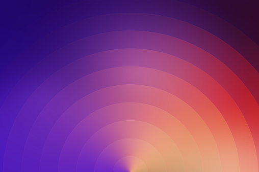 istock Abstract Background with Circles and Curves 901409540