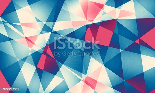 508945010 istock photo Abstract background with colorful polygons 509850220