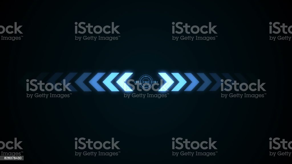 Abstract background with crosshair icon animation stock photo