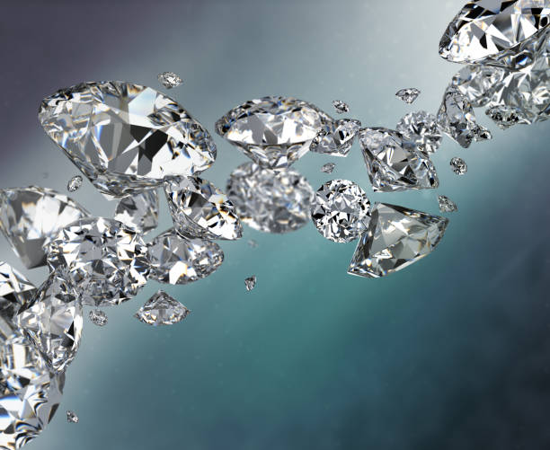 Cтоковое фото abstract background with diamonds