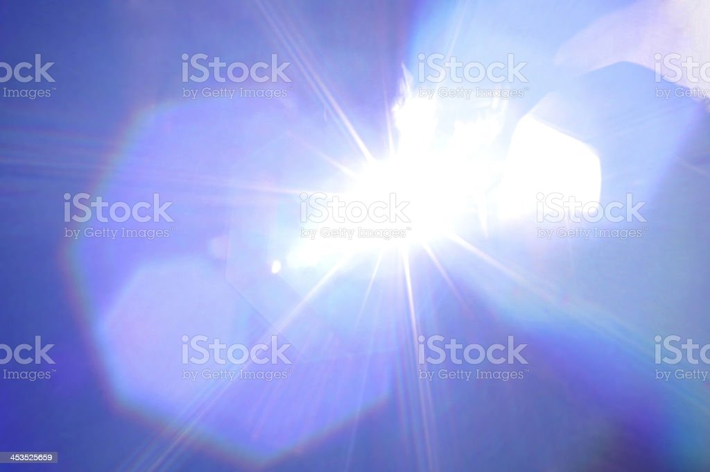 Abstract background with flash stock photo