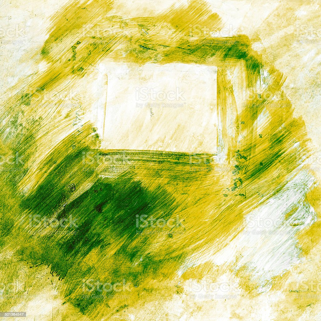 abstract background with green paint royalty-free stock photo