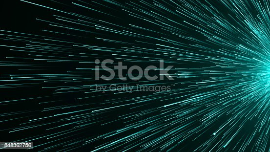 673622922istockphoto Abstract background with Optical fiber 848362756