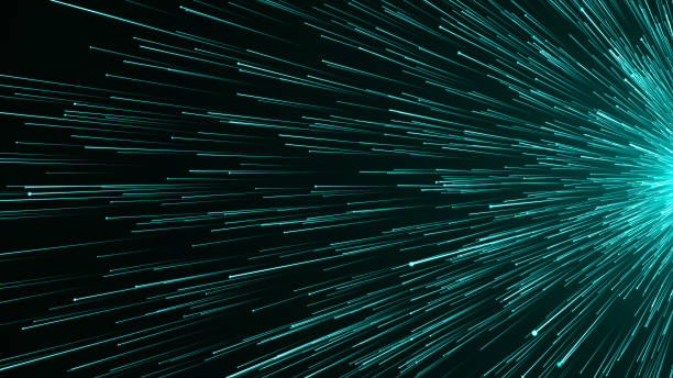 Abstract background with Optical fiber stock photo