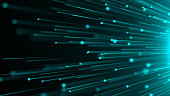 istock Abstract background with optical Fibers 900225650