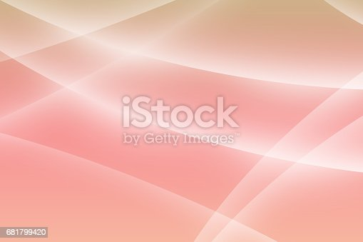 istock Abstract  background with soft curves 681799420