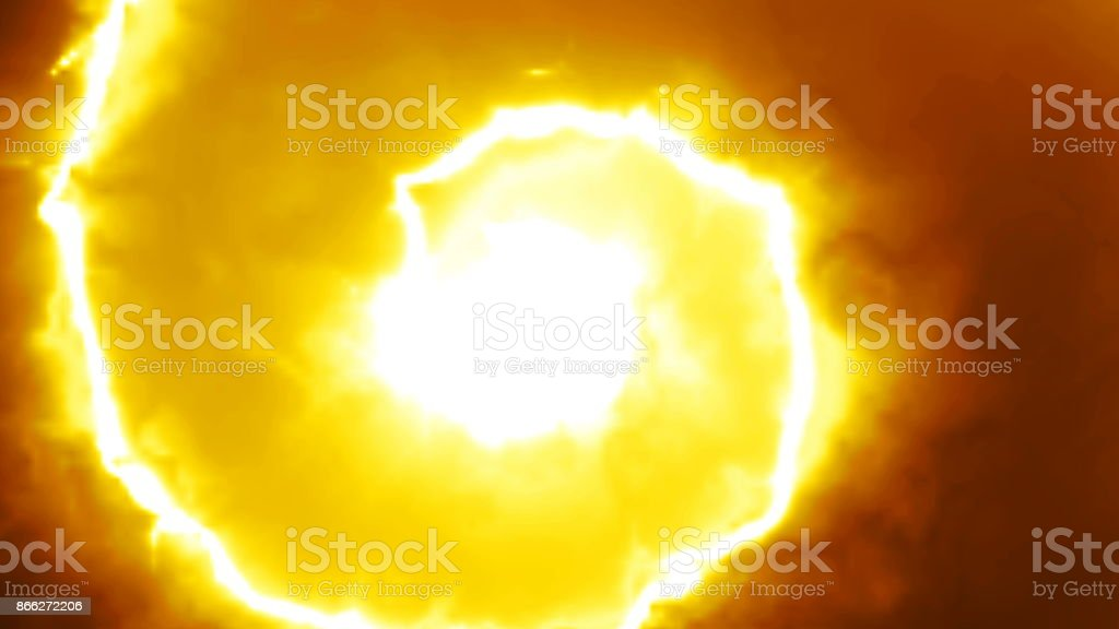 Abstract background with spiral energy lines stock photo