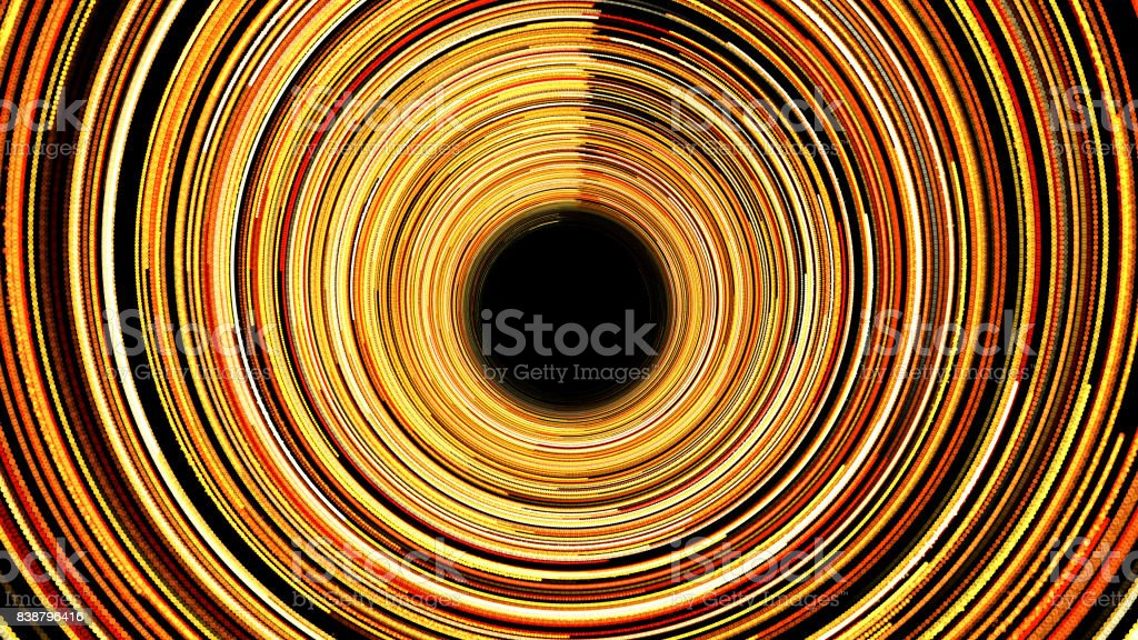 Abstract background with spiral tunel stock photo