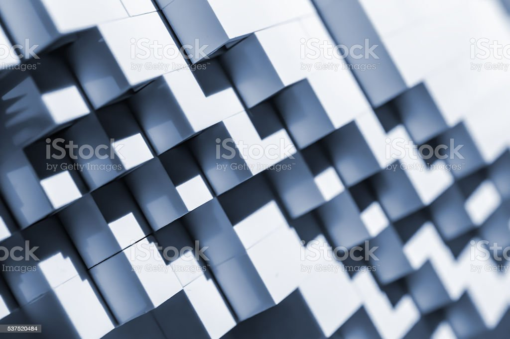 Abstract background with stairway shape. stock photo
