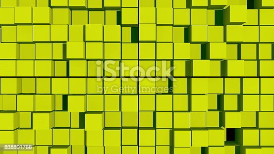 istock abstract background with surface cubes 838801766