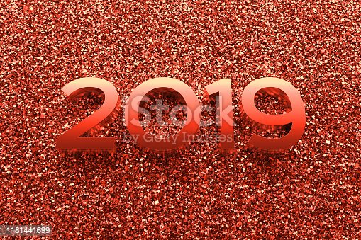 istock Abstract background with year number. 1181441699