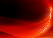 Abstract Background-Red Ribbon-High Quality Rendering