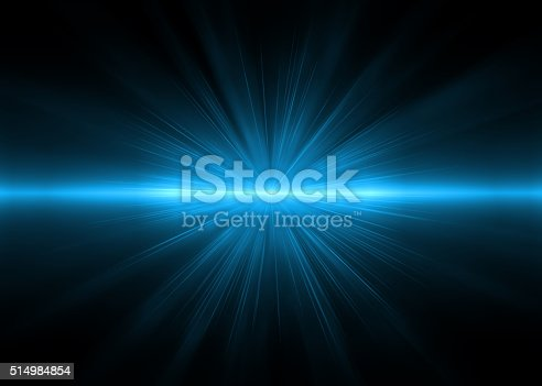 istock Abstract backgrounds blue lights (super high resolution) 514984854