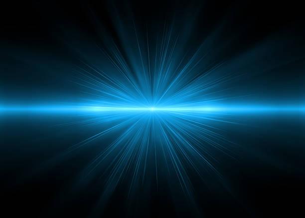 Sfondi astratti blu luci (super ad alta risoluzione - foto stock