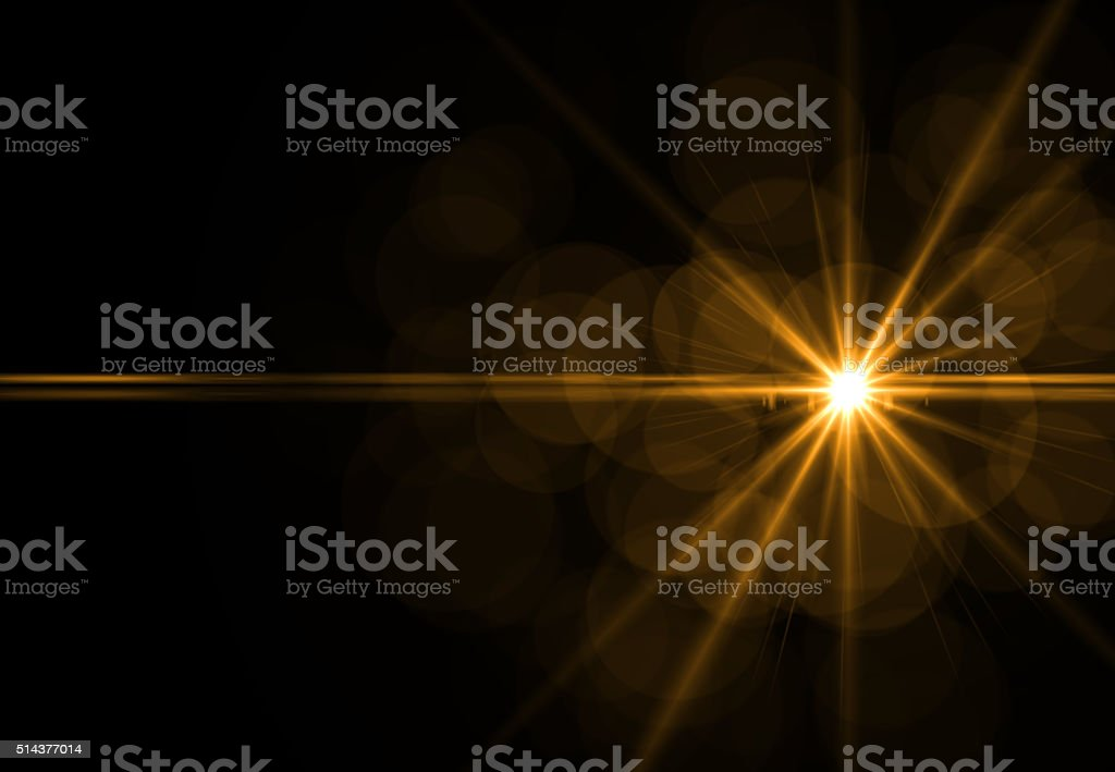 Fondos abstractos naranja luces (super alta resolución - foto de stock