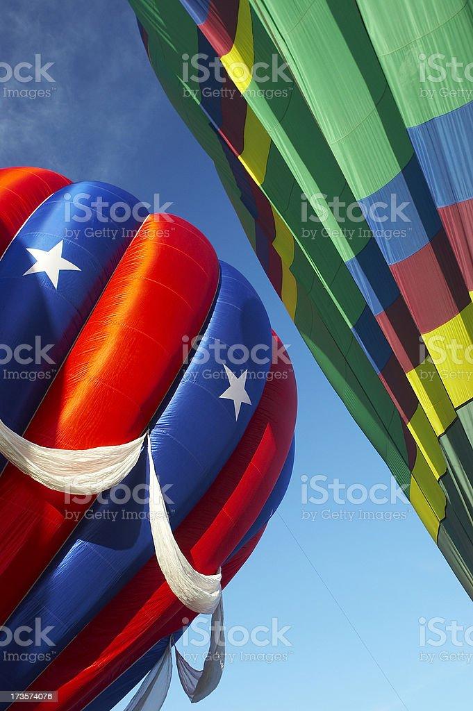 Abstract balloons royalty-free stock photo