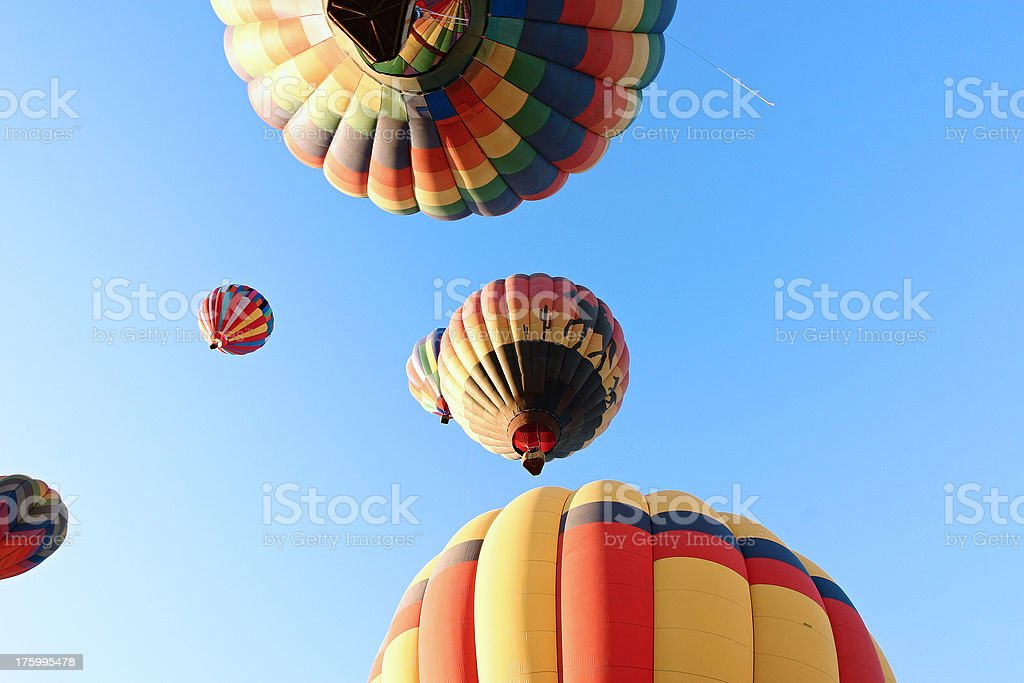 abstract balloons stock photo