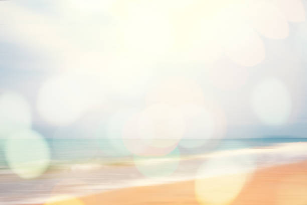 abstract beach background stock photo