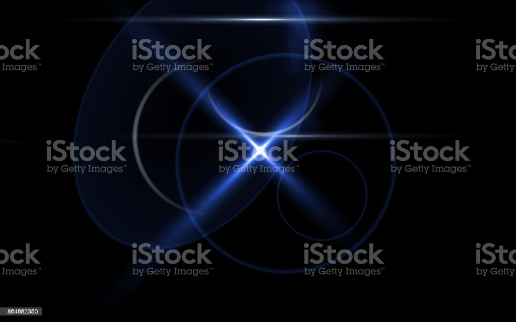 Abstract beautiful backgrounds.Lens flare lights effects.Cross blue light.Nature flare and beautiful light. stock photo