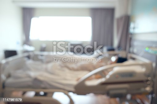 629429900istockphoto Abstract beautiful blur hospital interior for background 1147981579