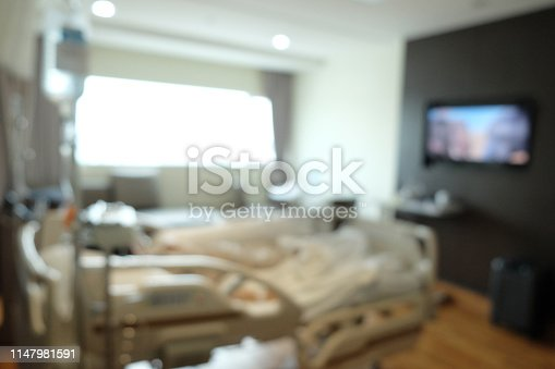 629429900istockphoto Abstract beautiful blur hospital interior for background 1147981591
