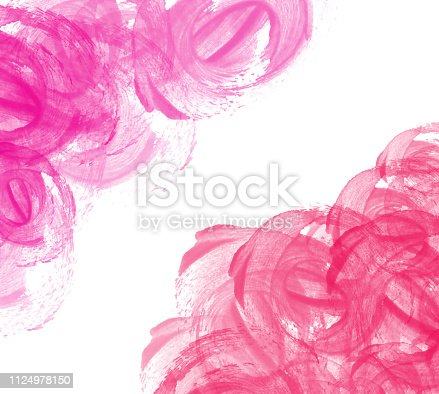 804299508 istock photo Abstract beautiful Colorful shape watercolor illustration painting background and texture backdrop. 1124978150