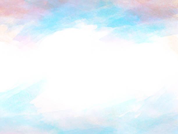 Abstrakte schöne bunte Aquarell Illustration Malerei Hintergrund und Kulisse. – Foto