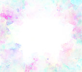 istock Abstract beautiful Colorful watercolor  painting  background, Colorful brush background 887849474