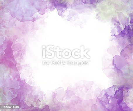 istock Abstract beautiful Colorful watercolor  painting  background, Colorful brush background. 899679048