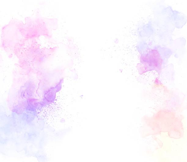güzel renkli suluboya resim arka plan, renkli fırça arka plan soyut. - tuval üzerine akrilik stok fotoğraflar ve resimler