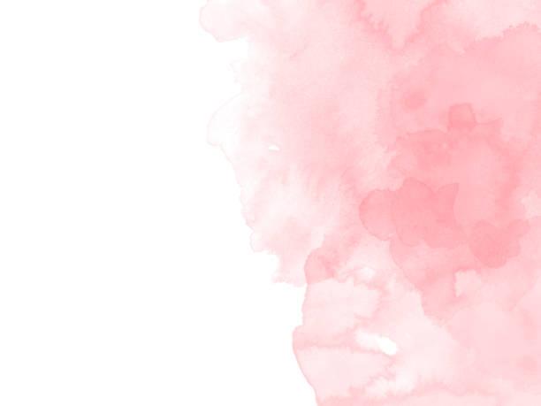 abstrakcyjne piękne kolorowe tło malarstwa akwarelowego, kolorowe tło pędzla. - różowy zdjęcia i obrazy z banku zdjęć