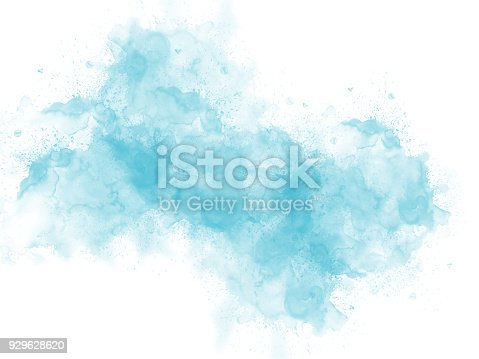 istock Abstract beautiful Colorful watercolor  painting  background, Colorful brush background. 929628620