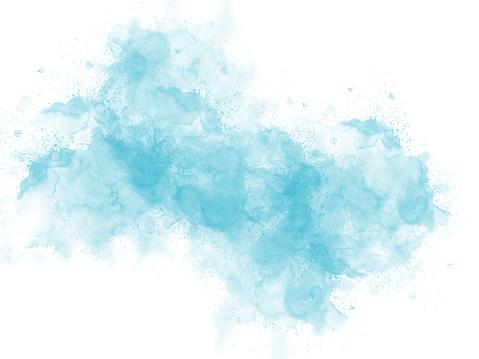 Schöne Bunte Aquarell Hintergrund Bunte Bürste Hintergrund Abstrahieren Stockfoto und mehr Bilder von Abstrakt