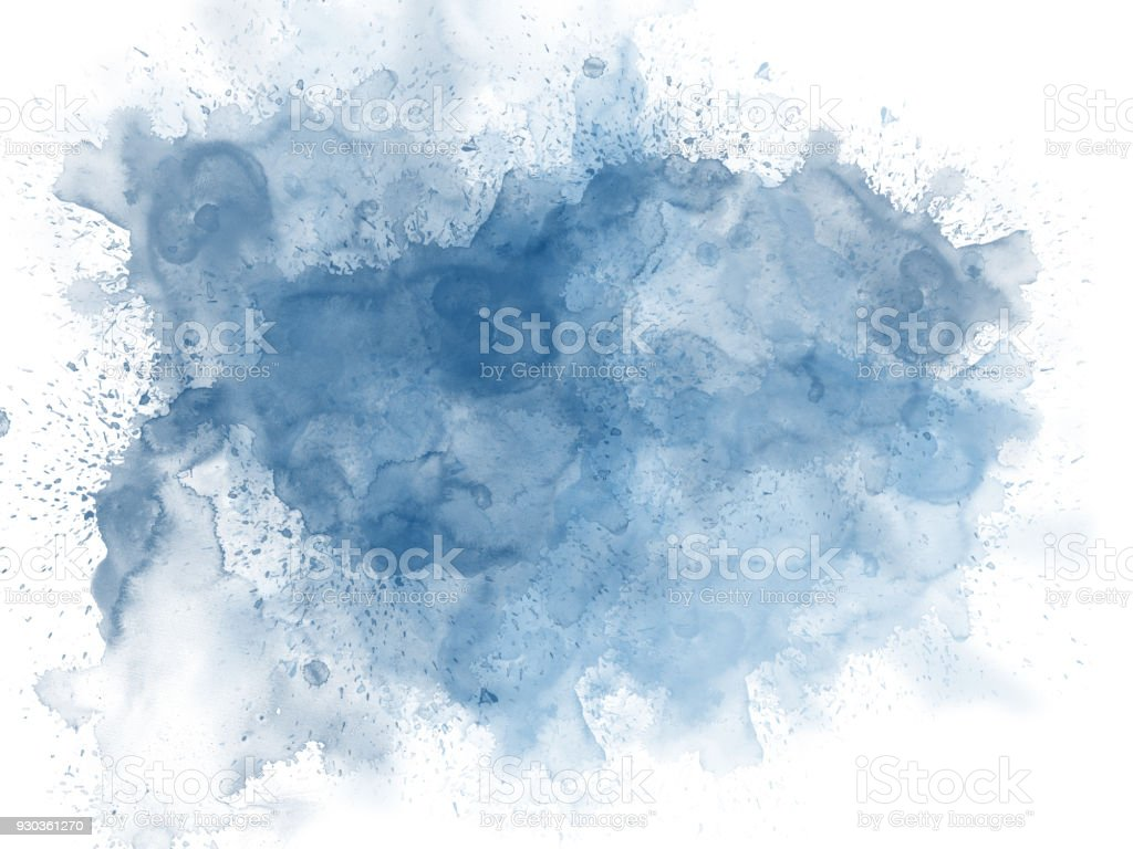 Abstract beautiful Colorful watercolor  painting  background, Colorful brush background. - foto stock