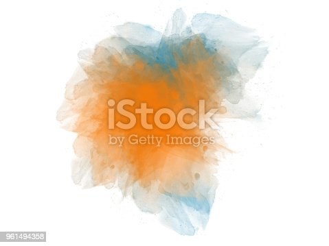 847999586 istock photo Abstract beautiful Colorful watercolor painting background. 961494358