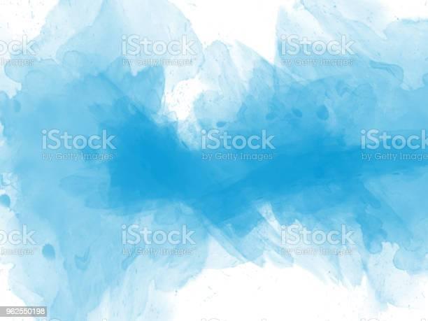 Foto de Abstrato Base Linda Pintura Aquarela Colorida e mais fotos de stock de Abstrato