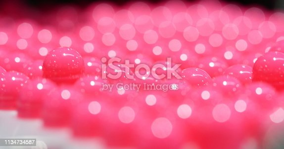 istock Abstract beautiful pink color background 1134734587