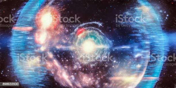 Photo of Abstract big bang conceptual image