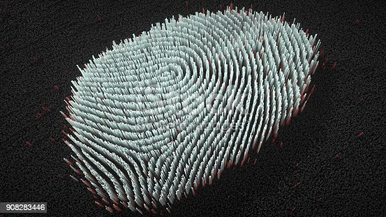 803260946 istock photo Abstract big data Fingerprint illustration 908283446