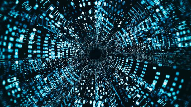 Abstract big data illustration stock photo