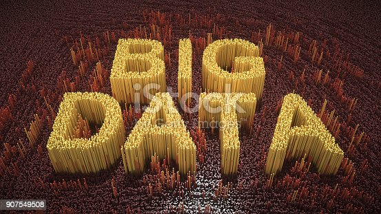 istock Abstract big data illustration 907549508