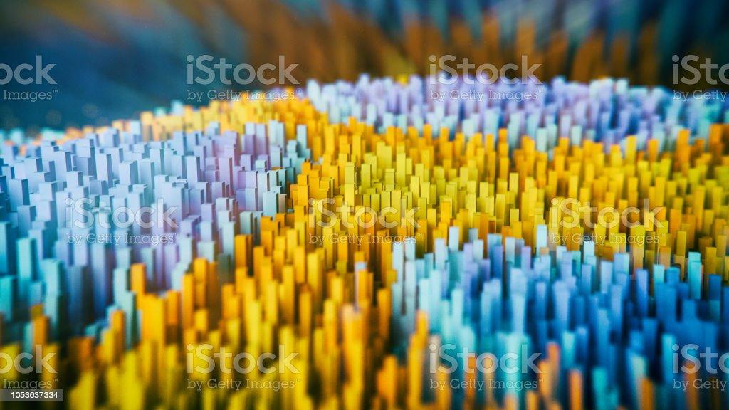 Abstract big data stock photo