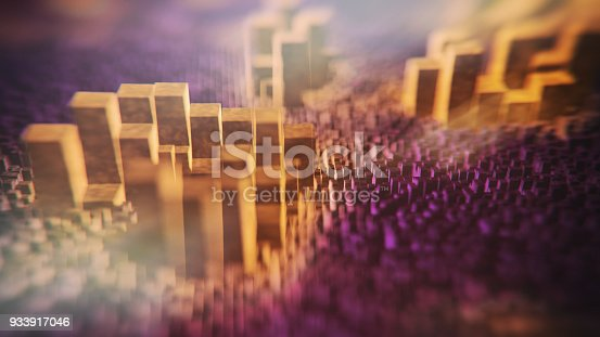 istock Abstract big data 933917046
