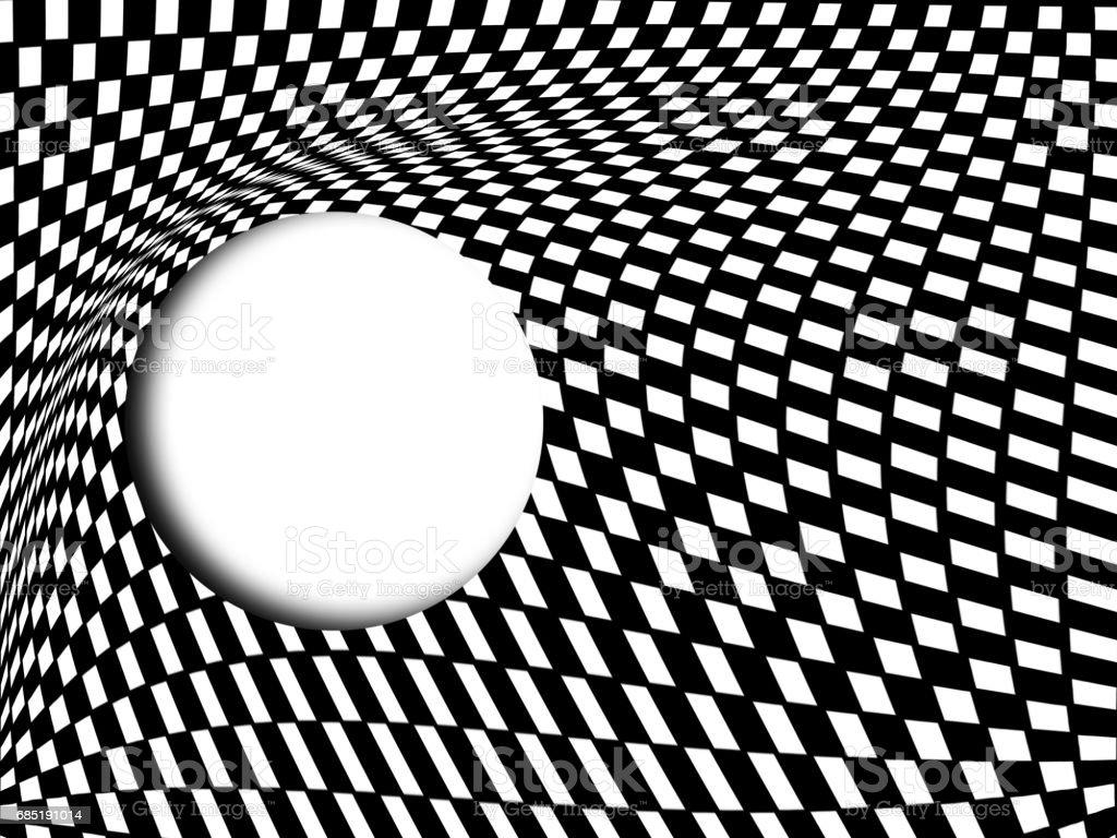 Abstract black and white, checkered Background foto de stock libre de derechos