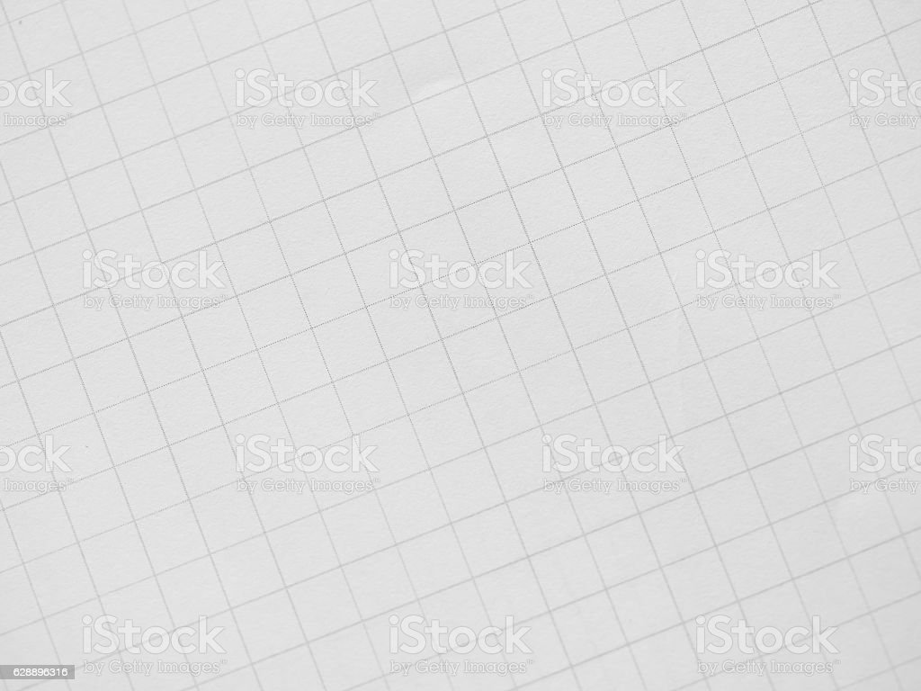 Abstract black and white grids paper background stock photo
