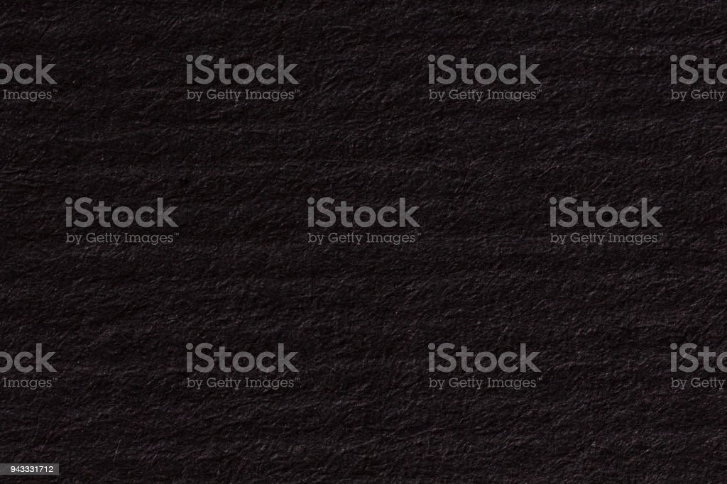Abstract black background. Paper texture. High resolution photo