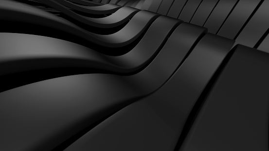 Abstract black background.