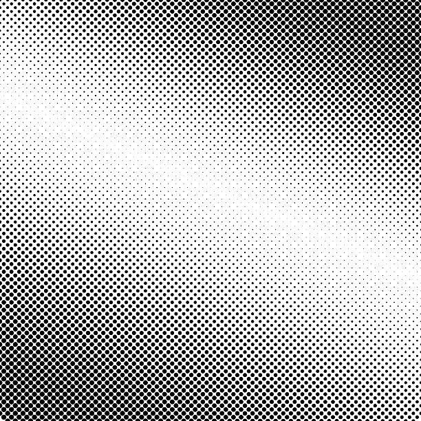 Abstrait fond noir avec des pois - Photo